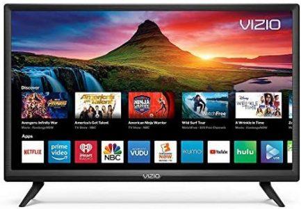 Vizio D-Series 24inch HD (720P) Smart LED TV, Smartcast + Chromecast Included - D24H-G9 (Renewed) 1
